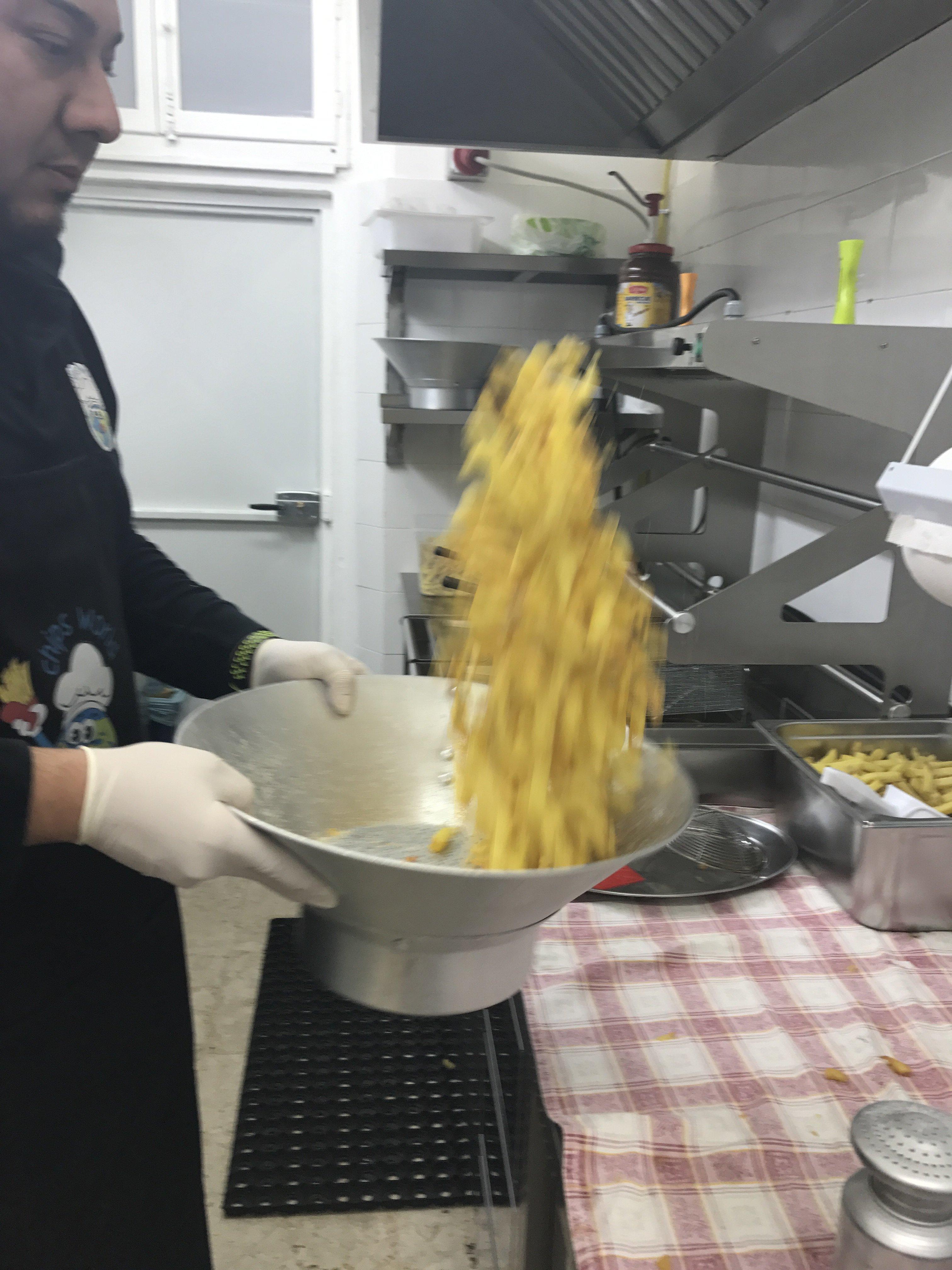 salatura di patatine fritte
