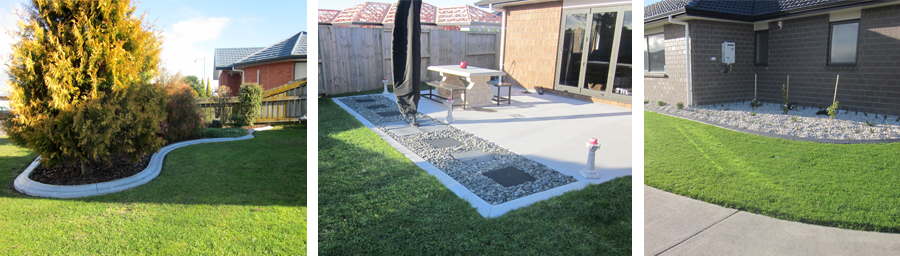Kerbing by the professional concrete contractor in Waikato