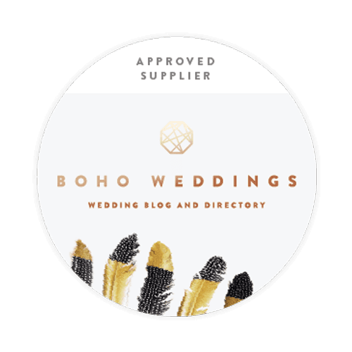 boho weddings logo