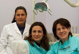 dentista, assistenti