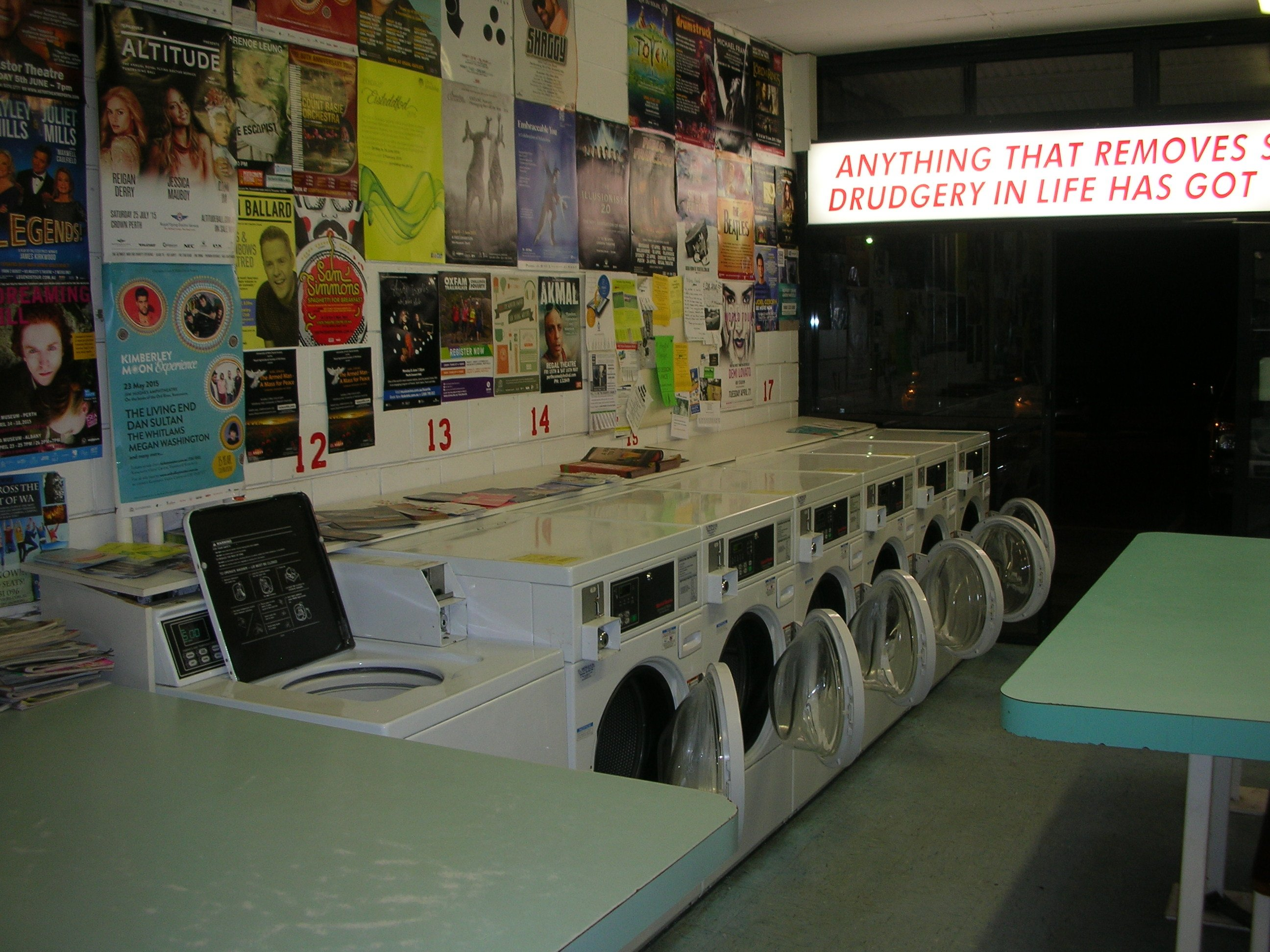 15 hour laundromat perth