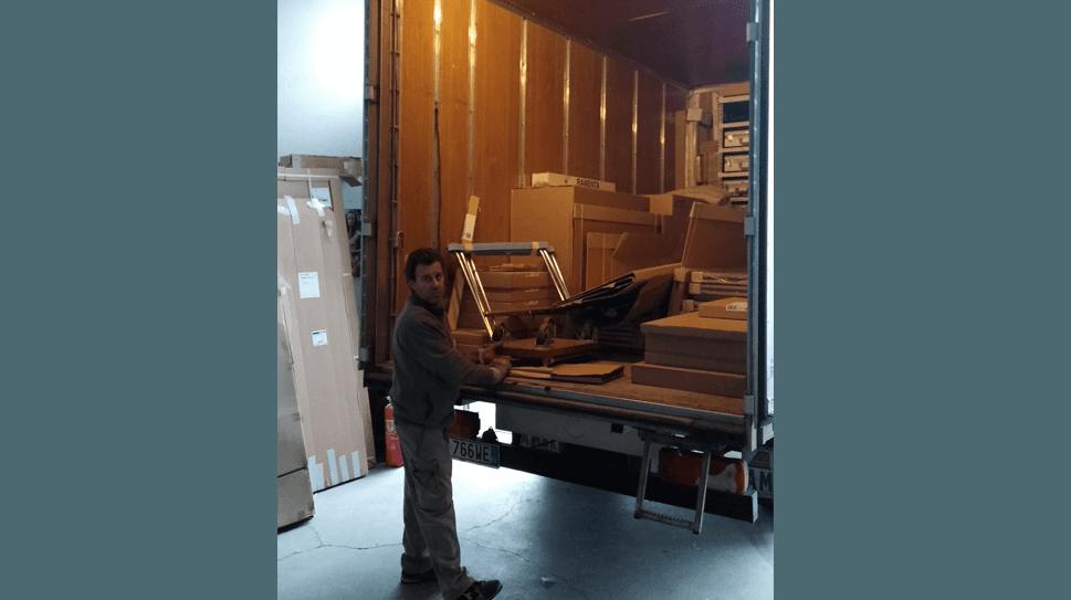Mezzi furgonati trasloco