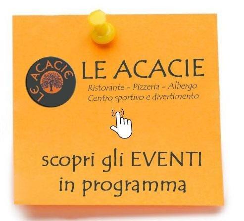 eventi in programma Le Acacie Vercelli
