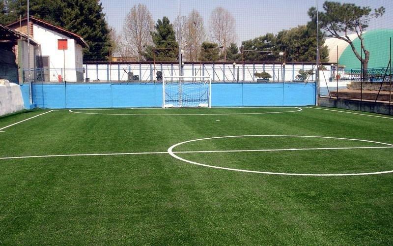 Campo per tornei di calcio