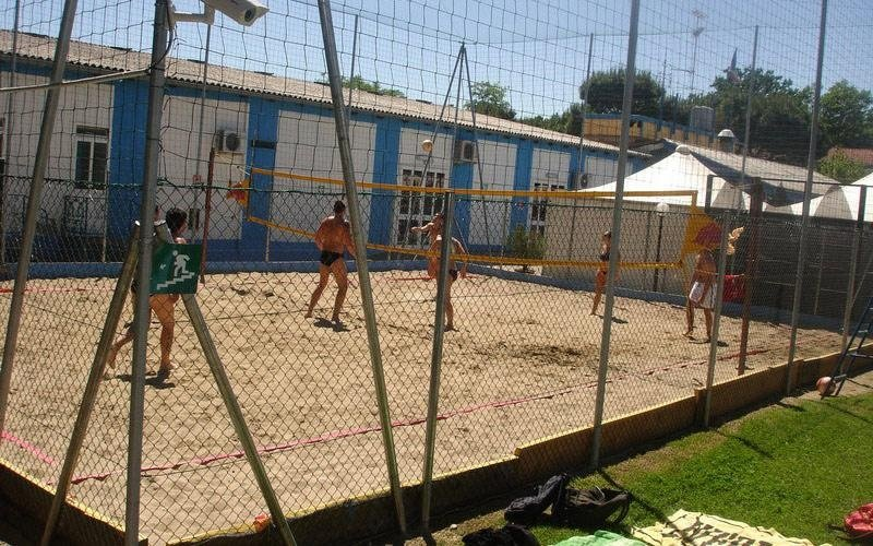 Campo per beach volley