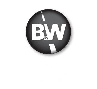 black & white trucks