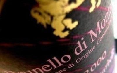 Etichetta di vino pregiato