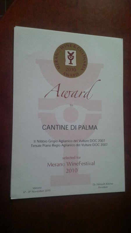 award cantine di palma