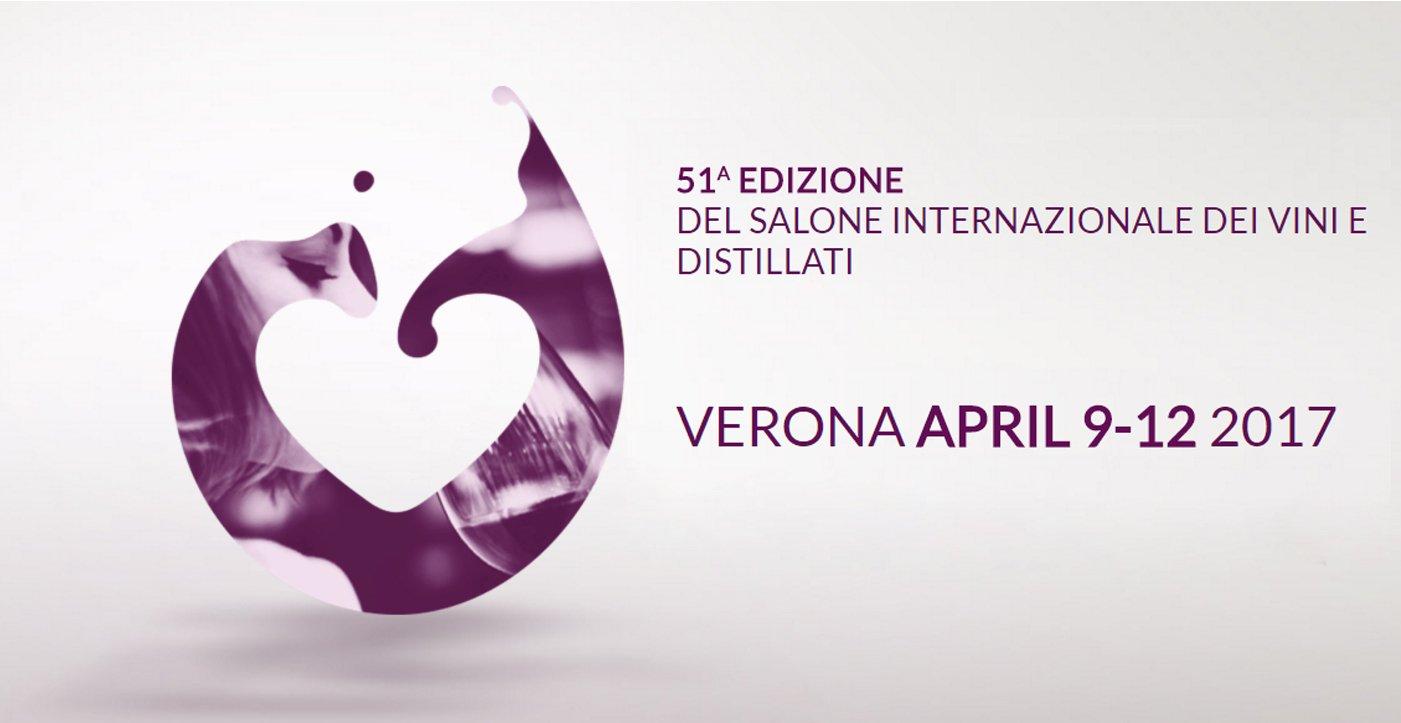 volantino del salone internazionale dei vini distillati di Verona