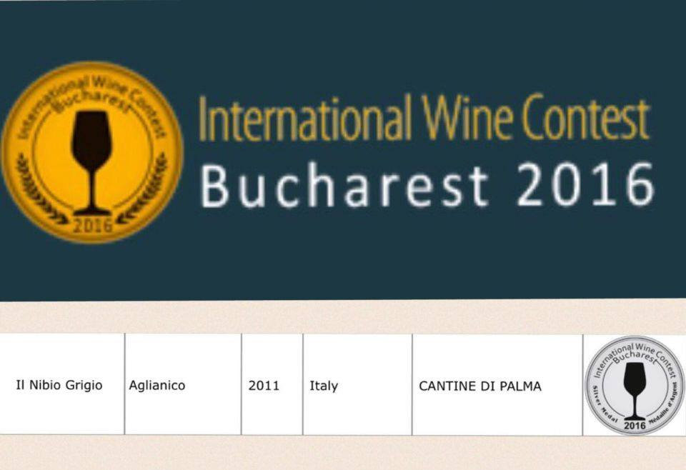 Attestato international wine contest a bucharest