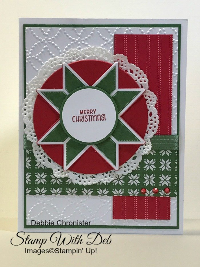 Stampin\' Up! Christmas Cards | Stamp With Deb | California 95610
