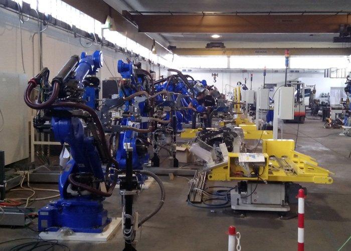 galleria montaggio industriale