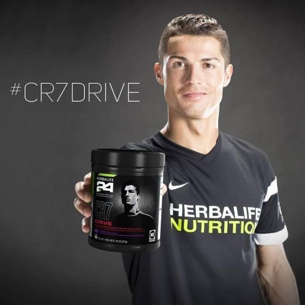 cr7 drive, herbalife