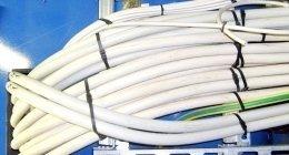 canalizzazioni per cavi elettrici per uso industriale