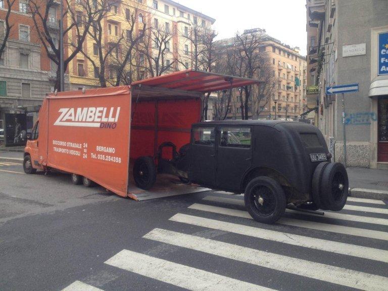 autosoccorso e trasporto veicoli