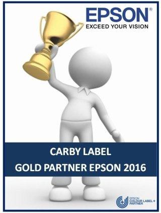 EPSON - GOLD PARTNER 2016
