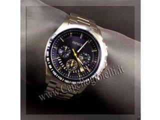 cronometro cinturino acciaio