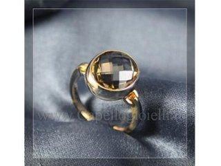 anello con topazio