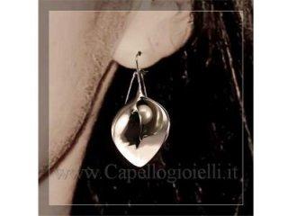 orecchino con perla