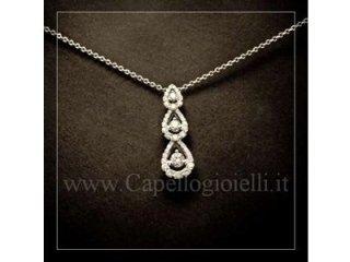 girocollo con diamanti