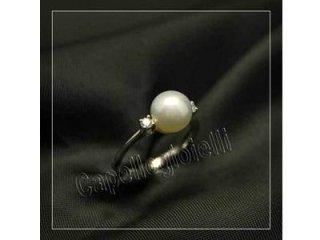 anello di perla