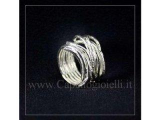anello argento athena