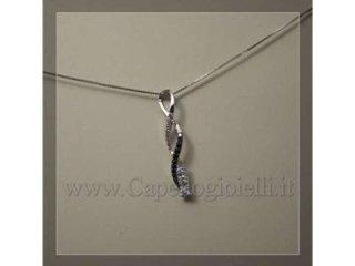 girocollo oro diamanti