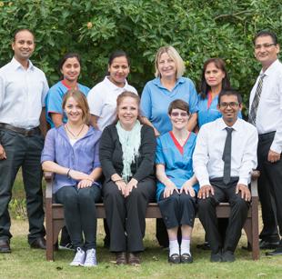 The De Vere Care team