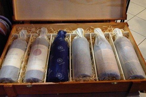 bottiglie da degustazione