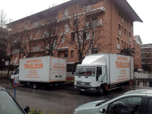 trasloco di abitazioni, trasloco di uffici
