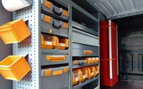 accessori per allestimento furgoni