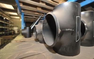 Industrial metal pipe fittings