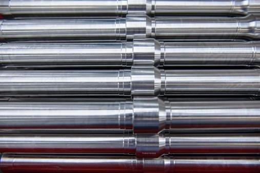 Particolare tubo acciaio