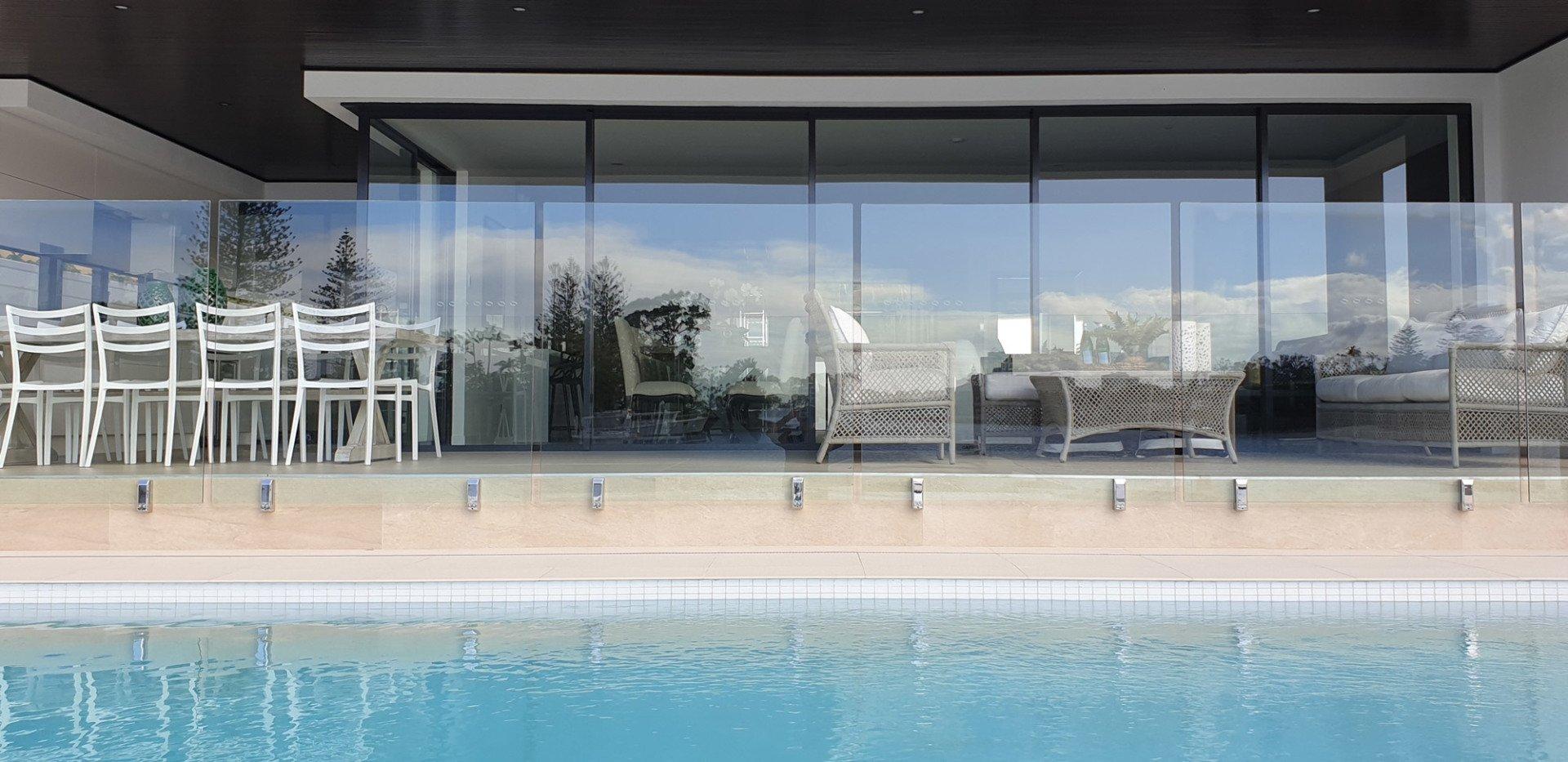 Frameless Glass Pool Fencing Amp Balustrades Gold Coast