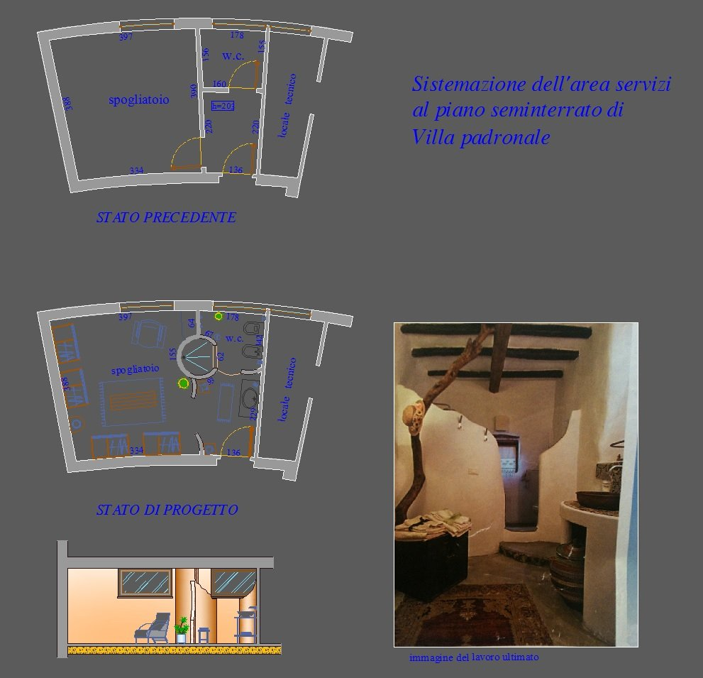 Progetto interni di appartamenti