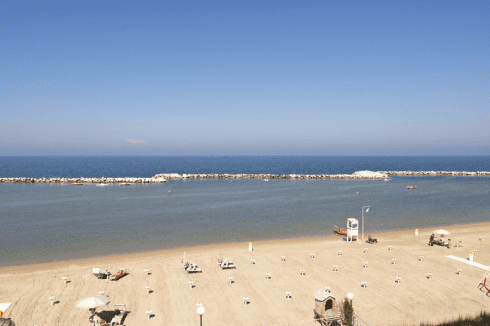 Spiaggia a due passi