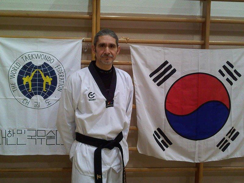 Attilio De Rossi maestro di taekwondo