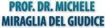 MIRAGLIA DEL GIUDICE PROF. DR. MICHELE - Logo