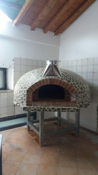 Forni a legna per panifici e pizzerie melicucco reggio for Prezzo al piede quadrato per costruire un garage