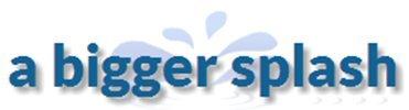 a bigger splash logo