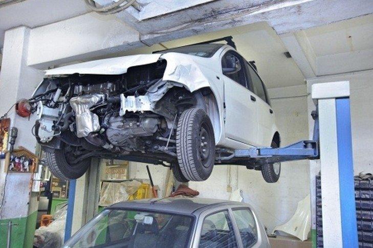preparazione auto.