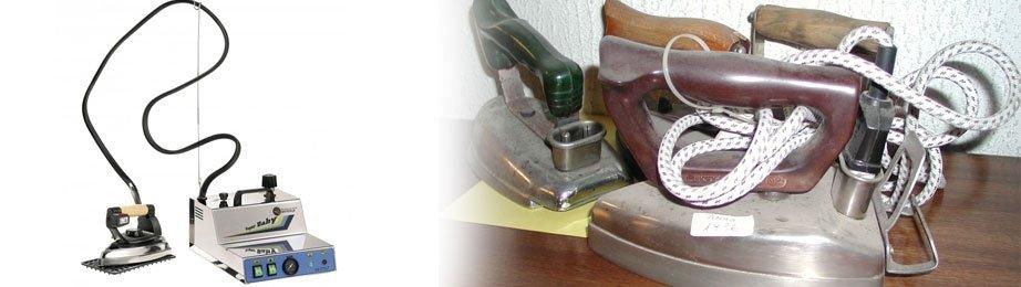 ferro da stiro, lavatrici, essicatoi