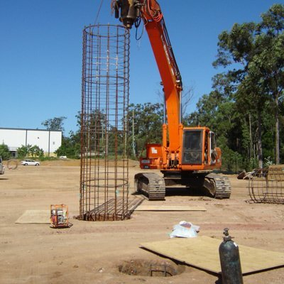 drilling piers