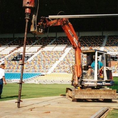 tie down stadium