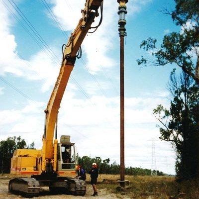 screw pile drilling
