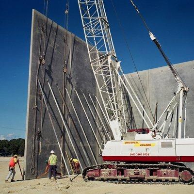 tilt panel erection crane