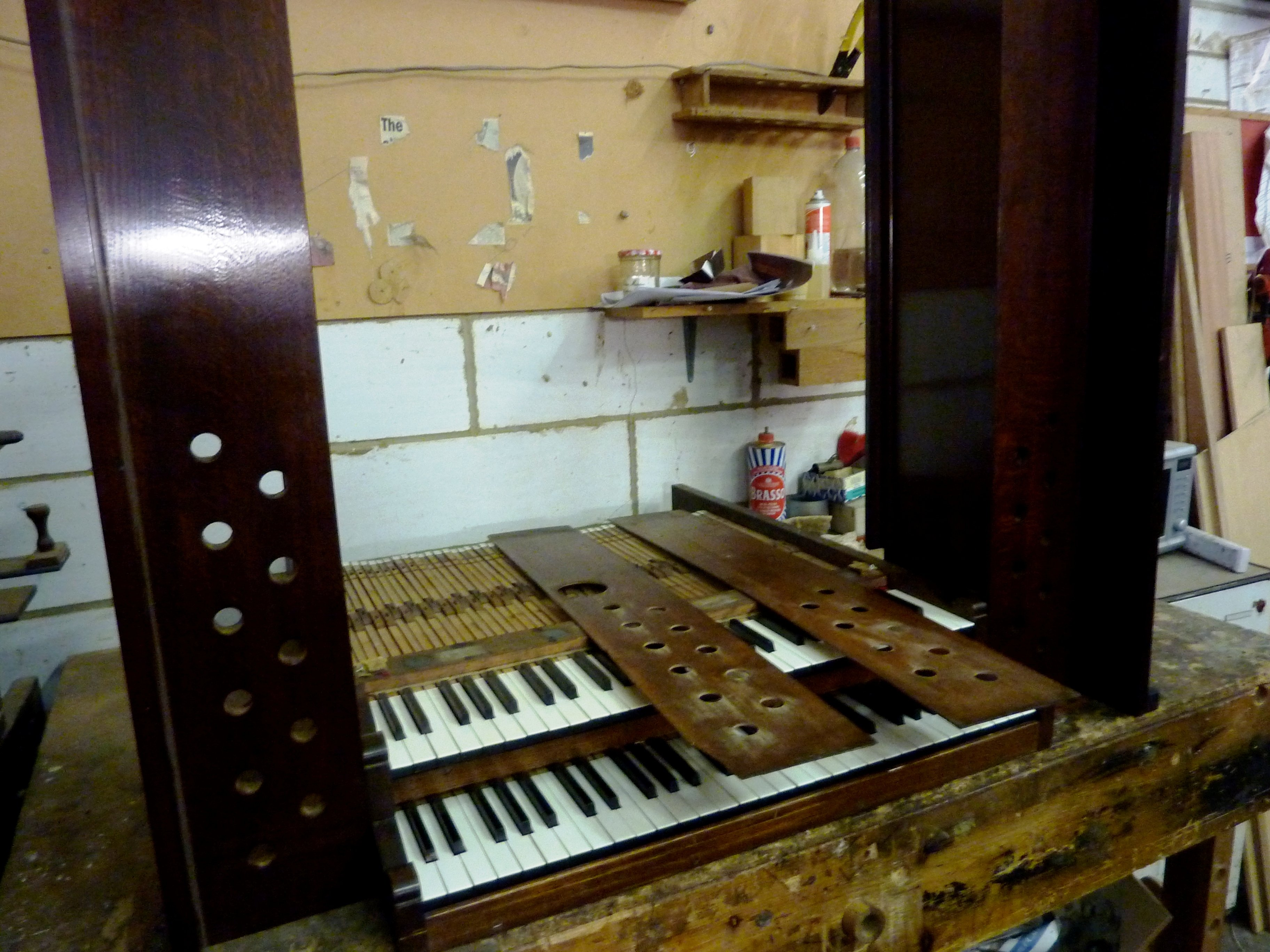 Workshop visit - keyboard