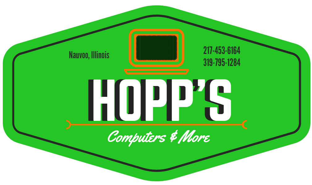 Hopp's Computers and More logo