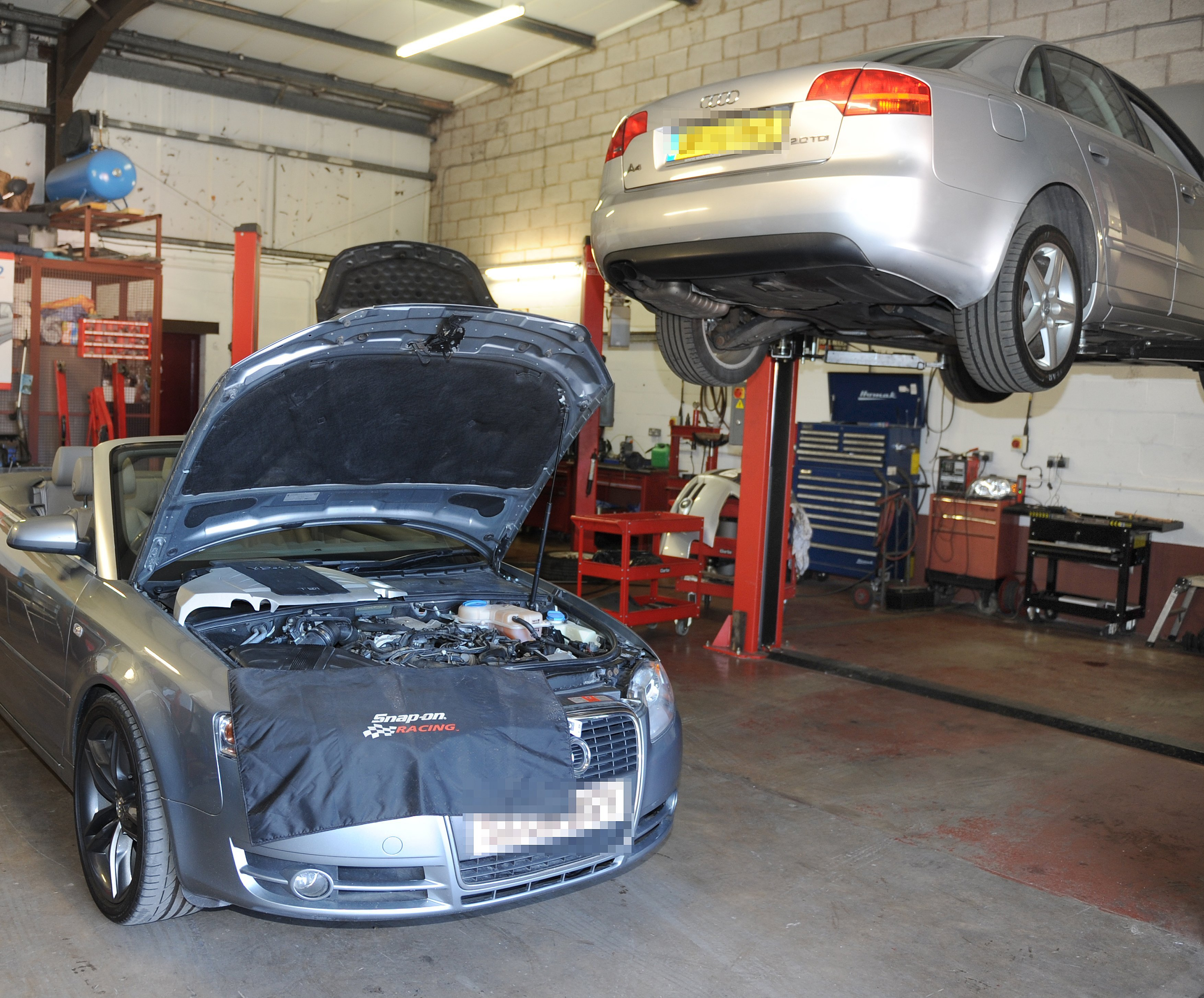 Car repairs and servicing