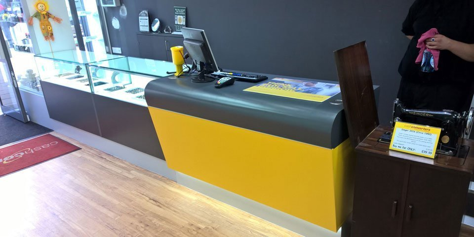shop counter design